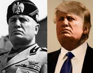 Trump-Mussolini-Fascist-Twins-1